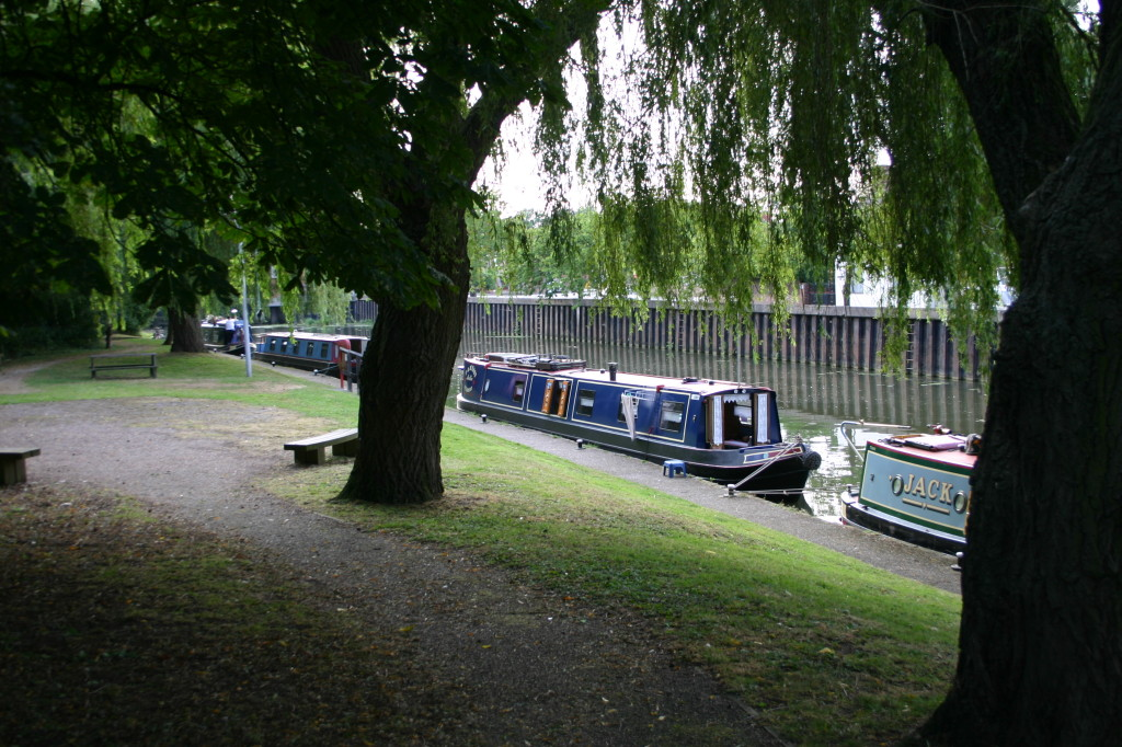 Good moorings for the night