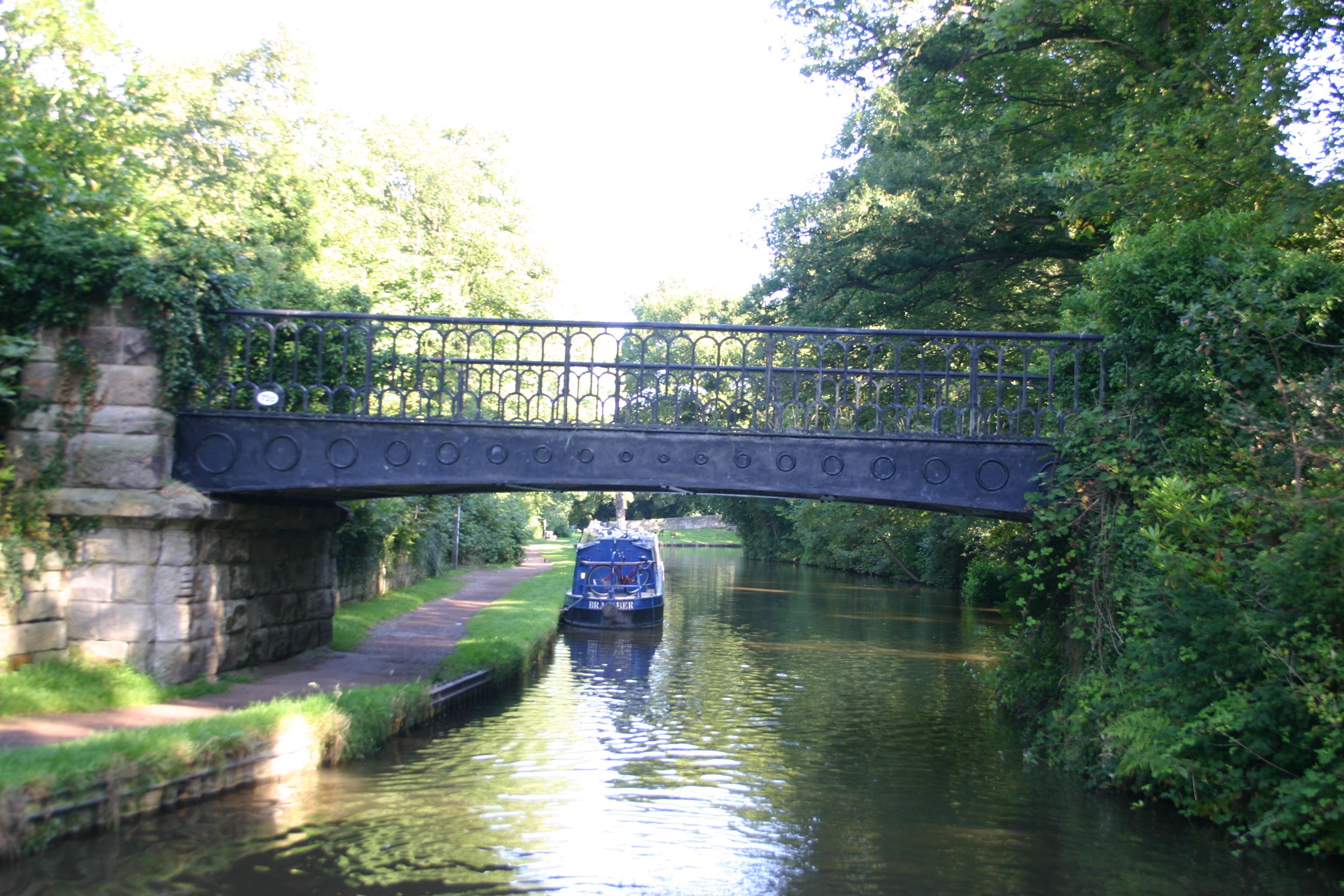 Our bridge is fancier than yours!
