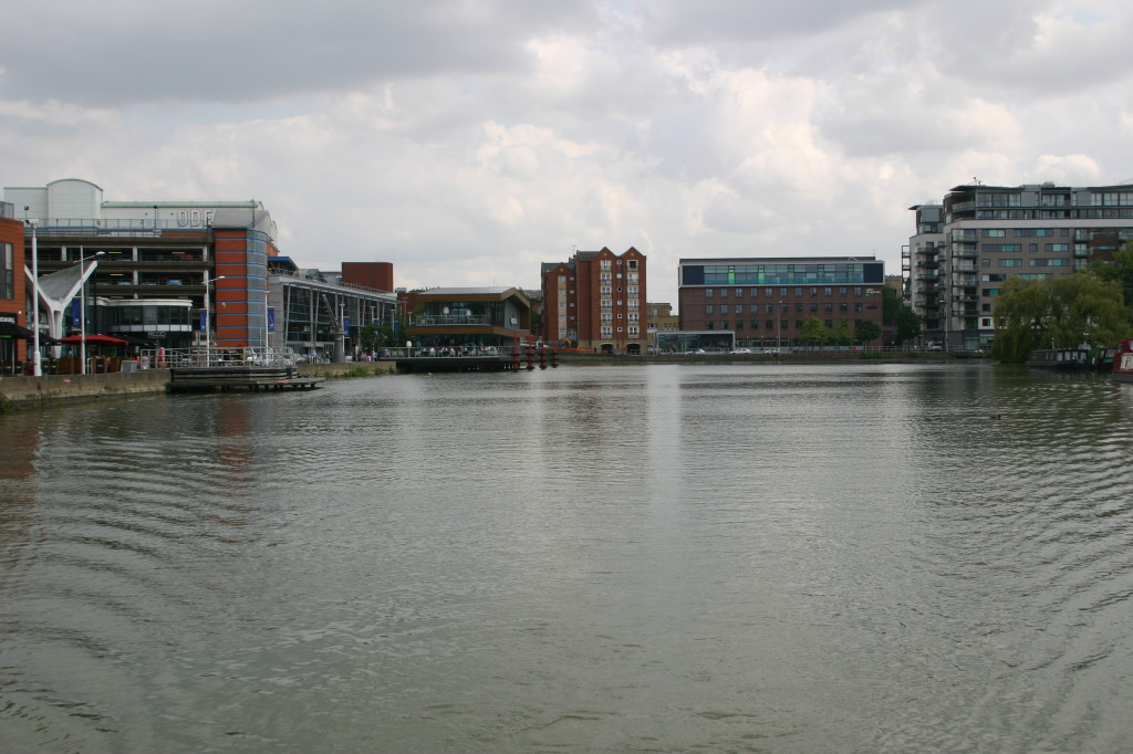 The Brayford Pool in all its redeveloped magnificence