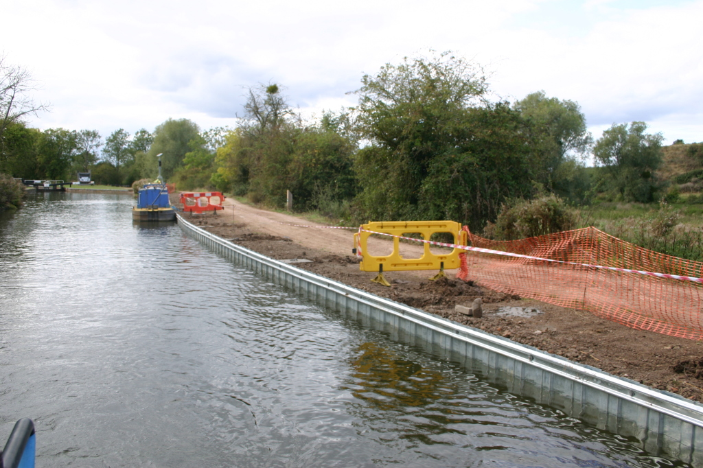 New Moorings above the second lock