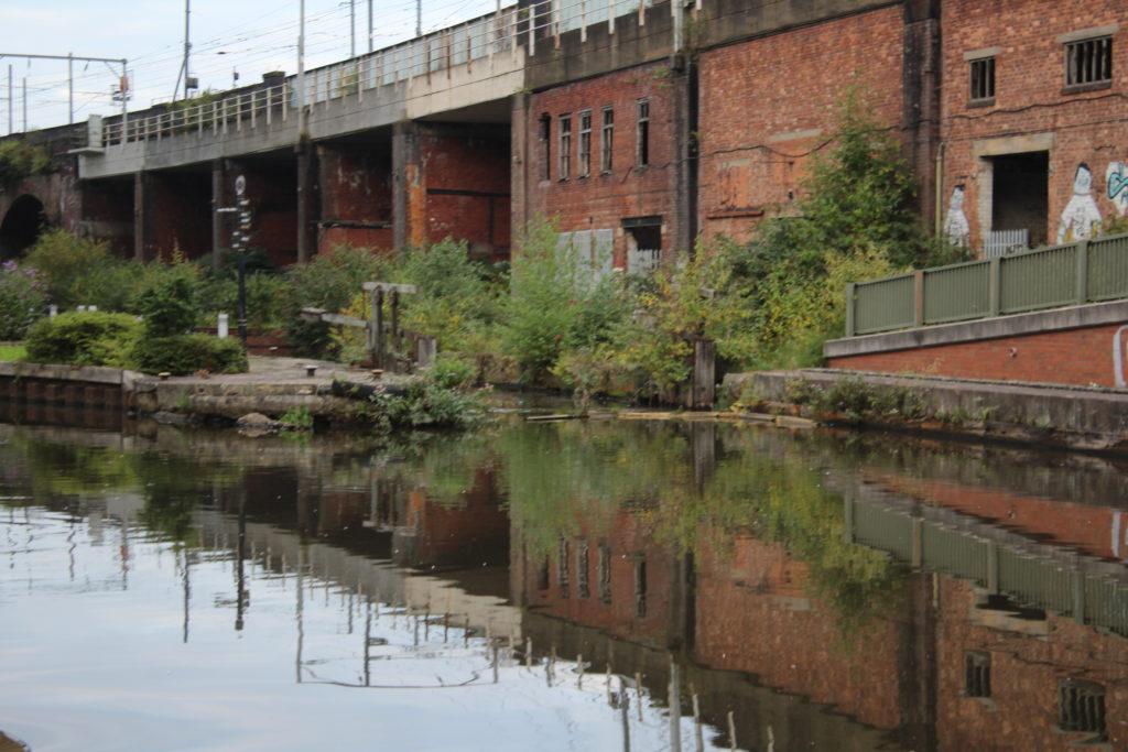 Hulme lock Junctiokn