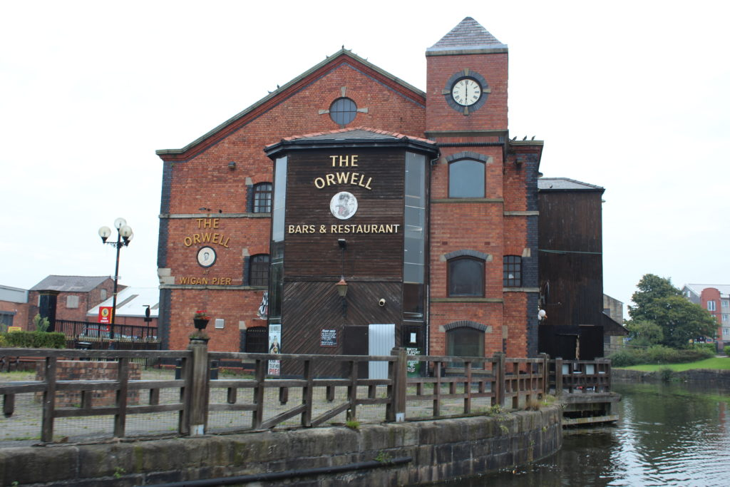 The Orwell Pub at Wigan Pier