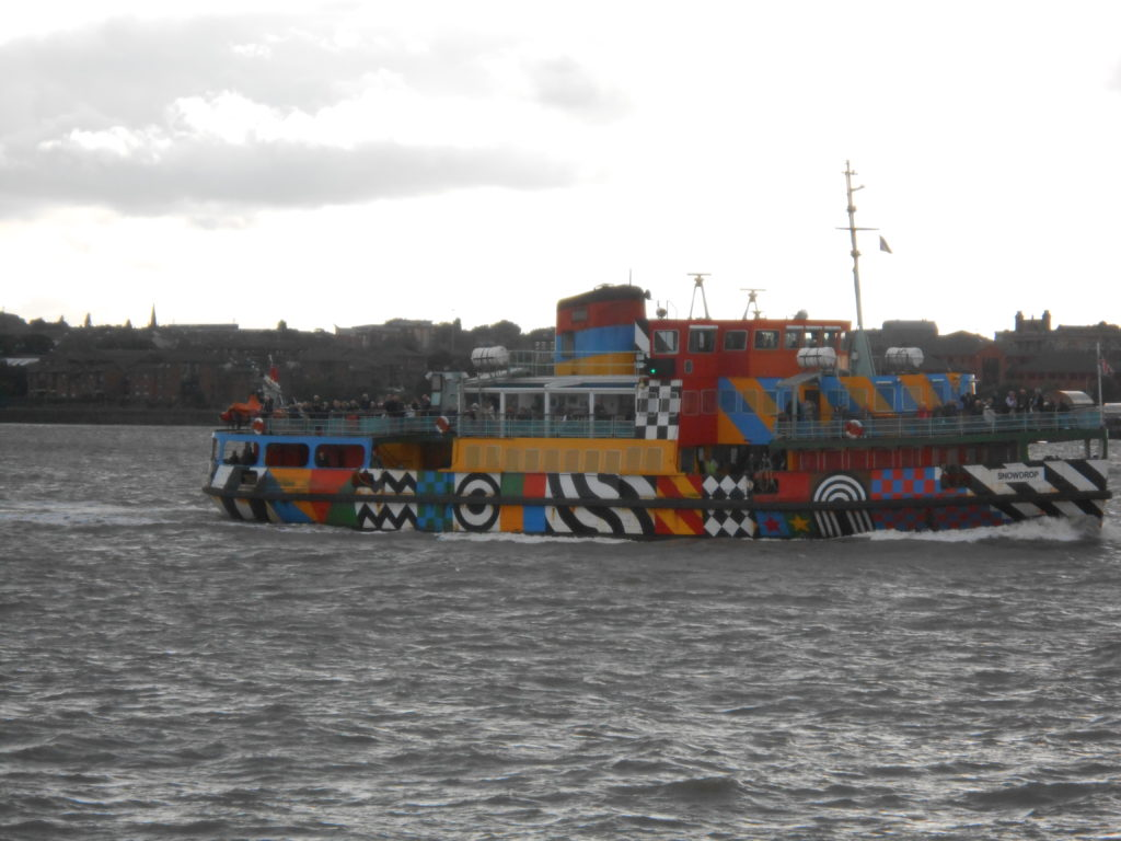 "Liverpool Ferry - In ""Dazzle"""