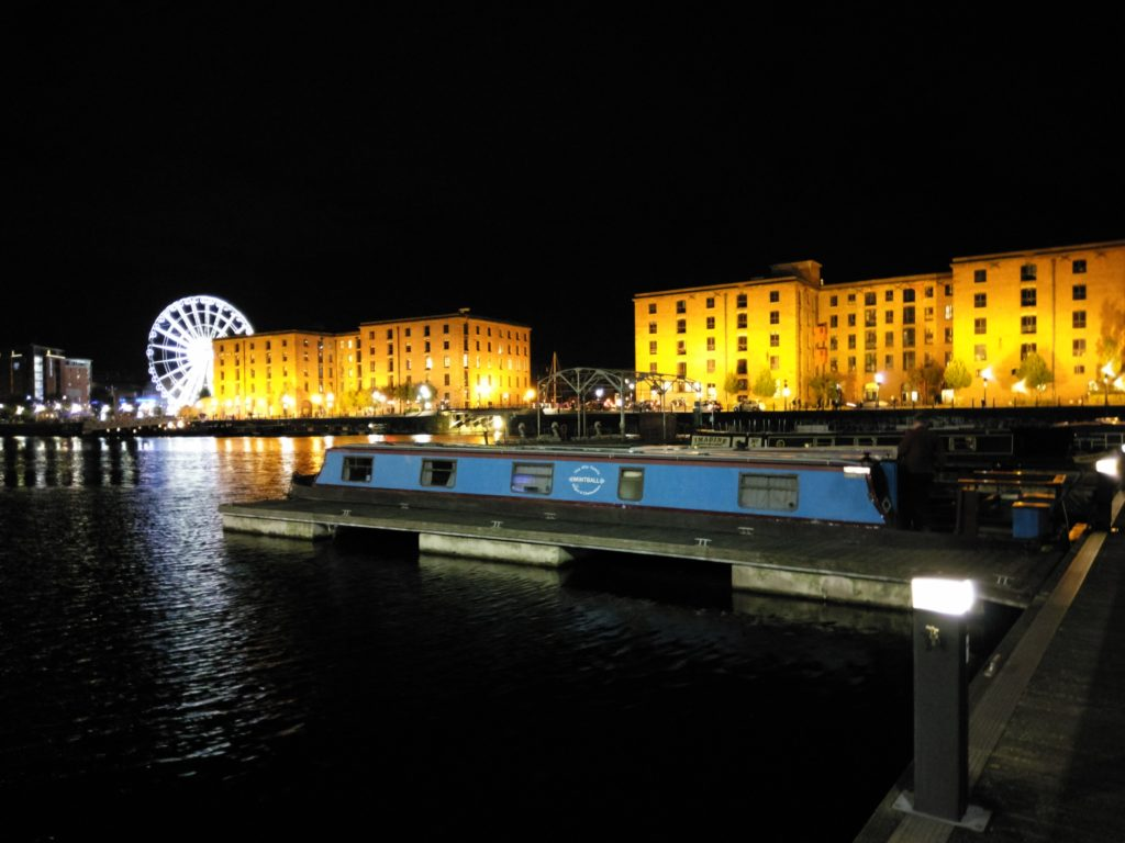 Salthouse Dock at Night