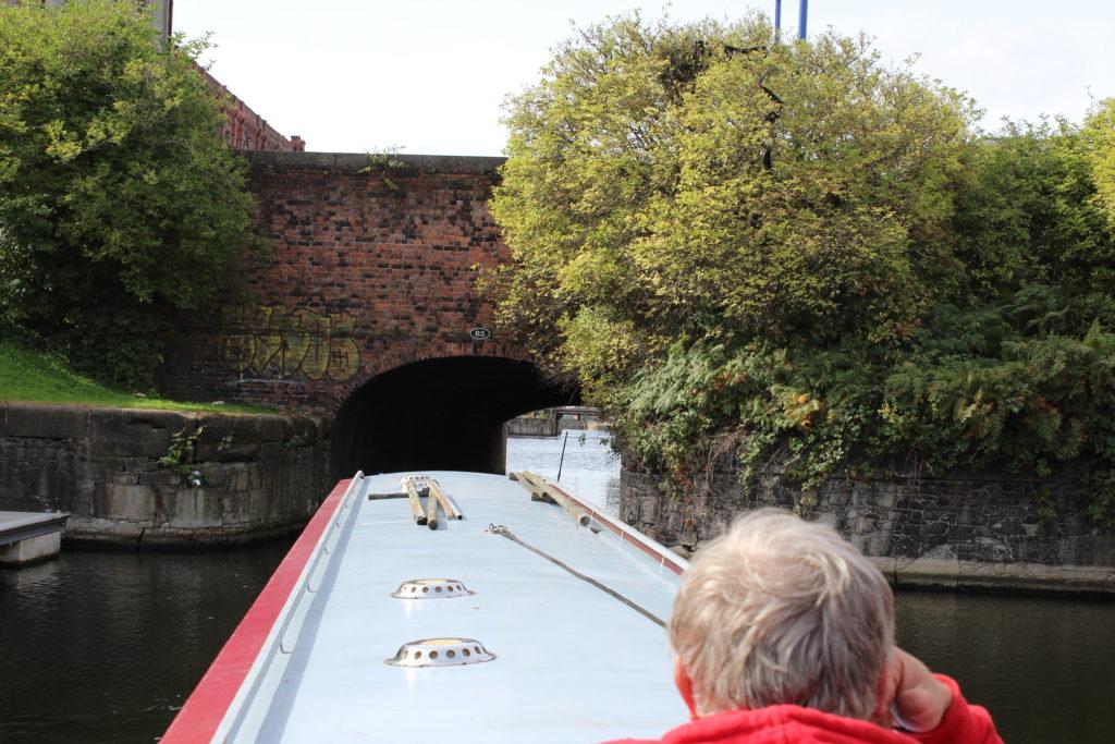 Entering Stanley Dock
