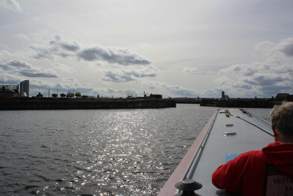 Salisbury Dock through to Trafalgar Dock