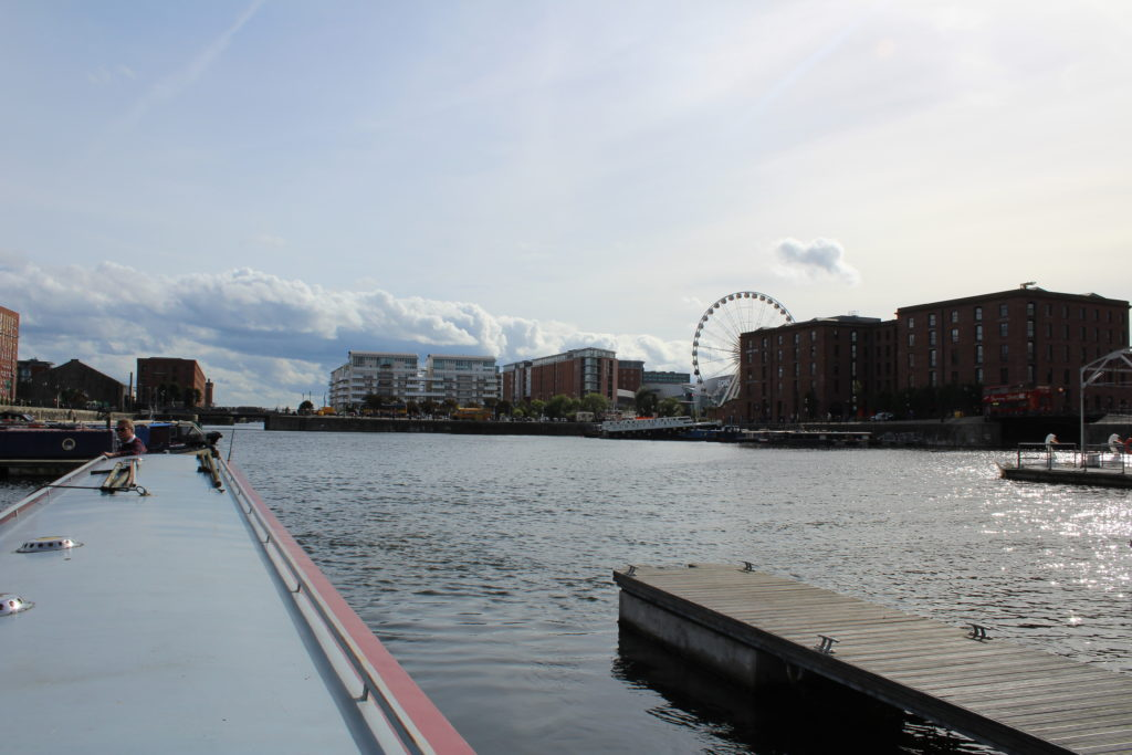 View across the dock