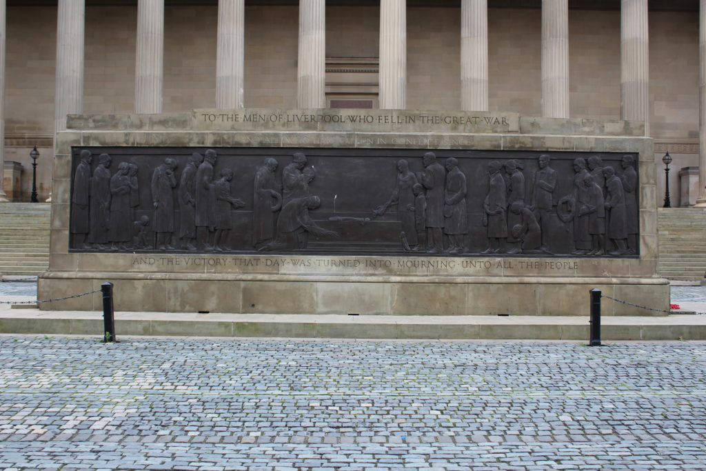 The War Memorial, St George's Hall