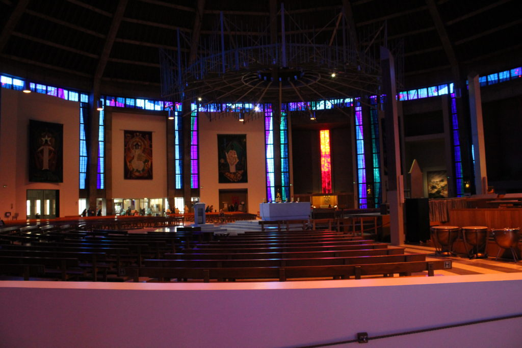 Another view of the altar