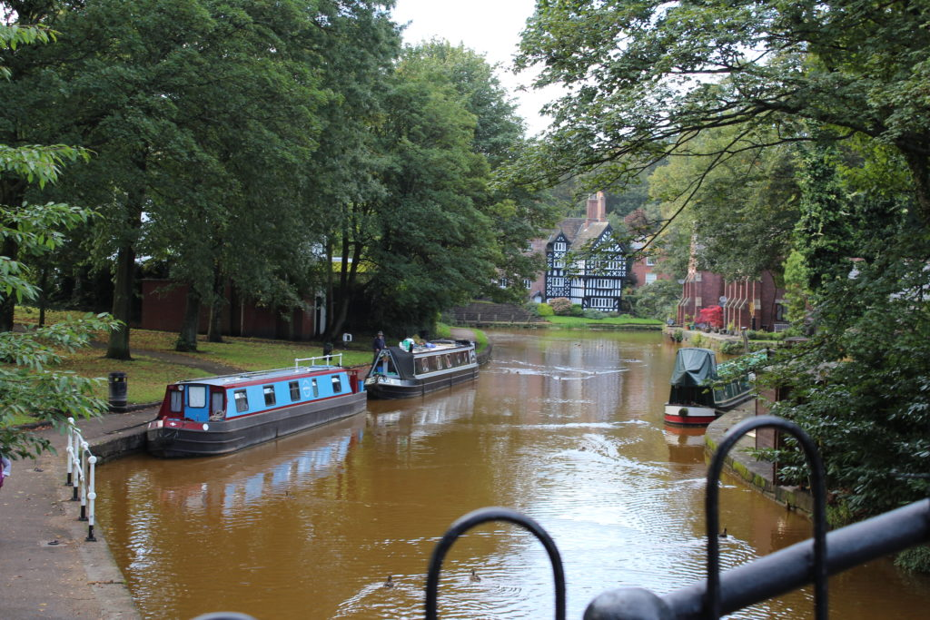 Visitor Moorings and The Packet House