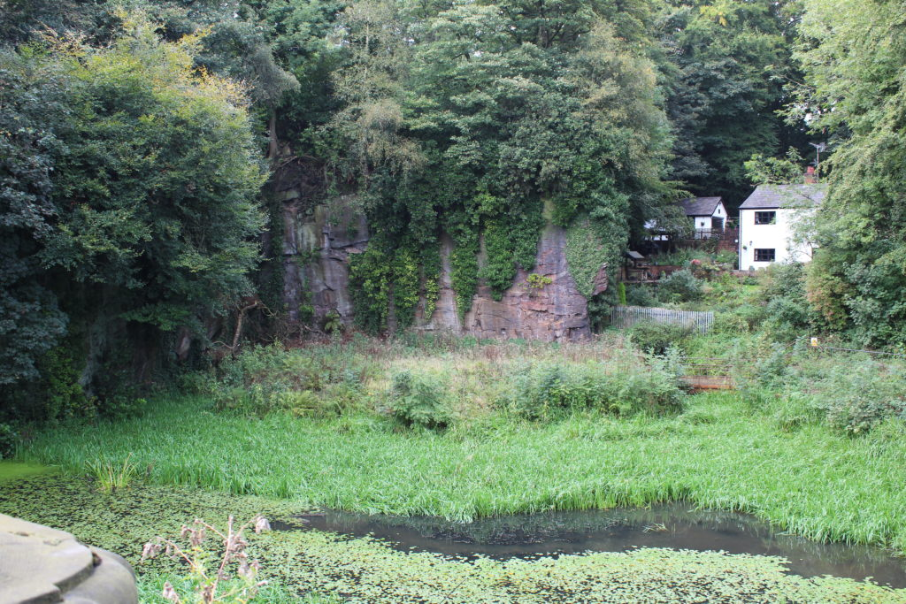The Delph - all overgrown and silted up