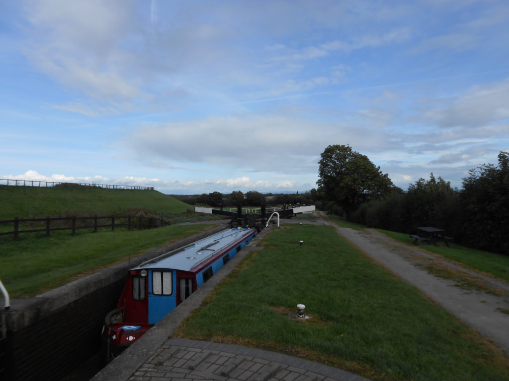 Ascending the locks