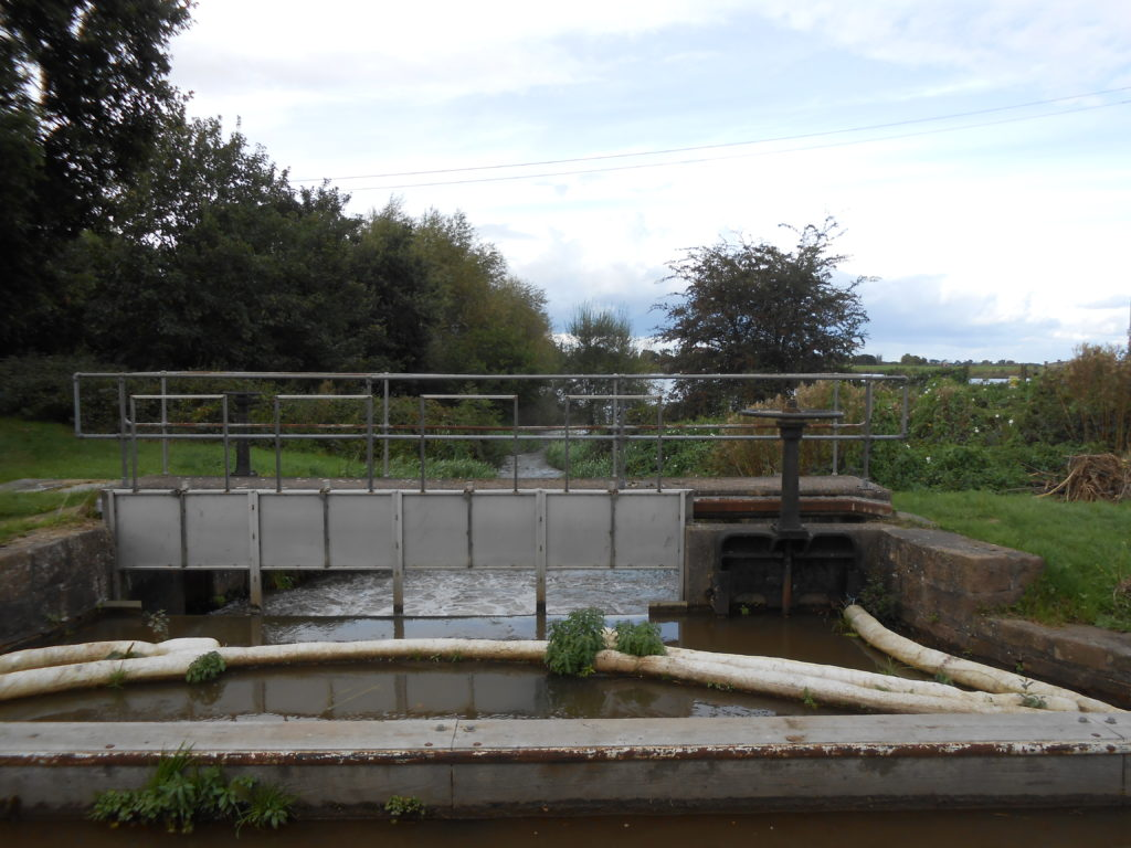 Canal feeder into the reservoir.