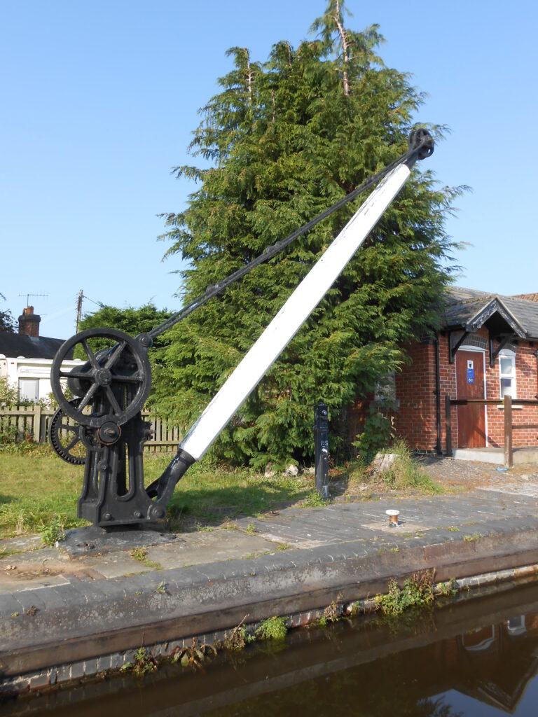 Maesbury Wharf Crane