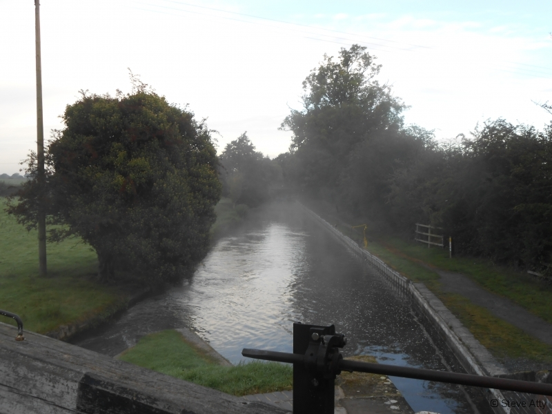 Mist on the Llangollen Canal