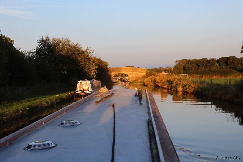 Evening on the Middlewich Branch